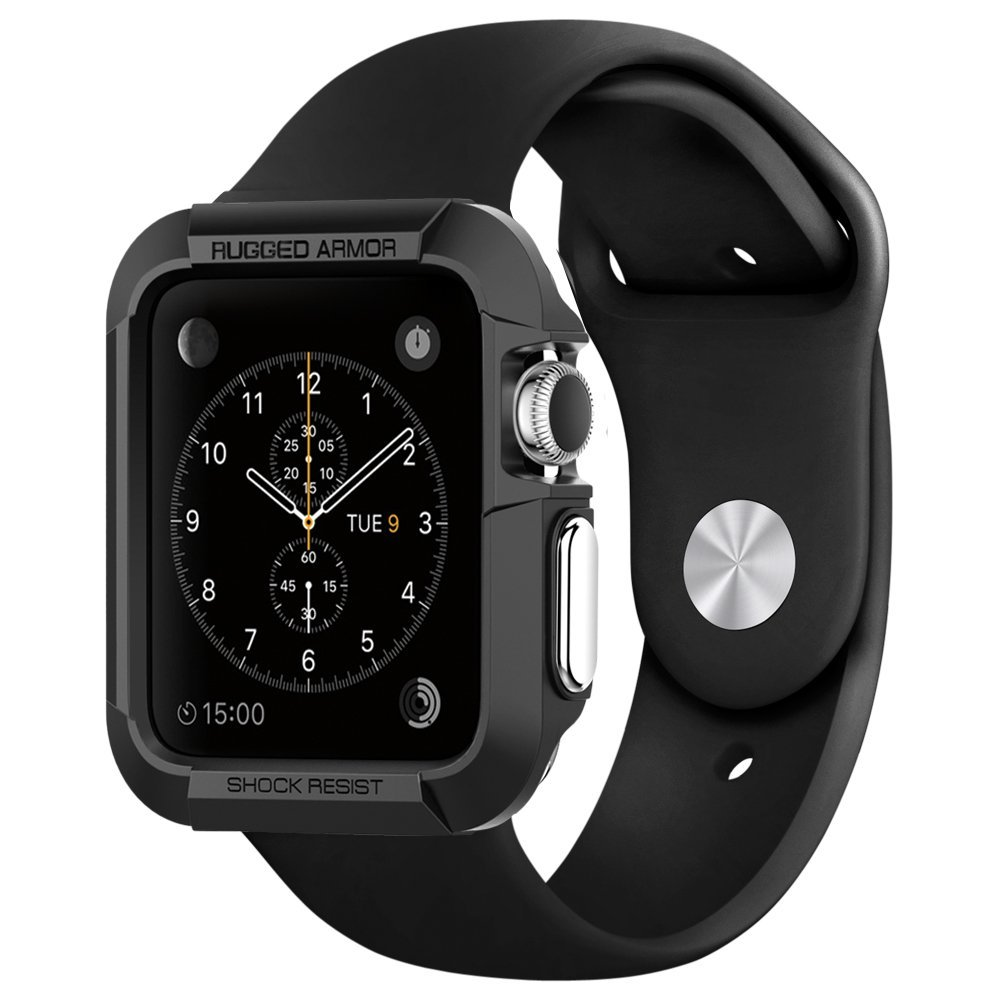 Spigen Rugged Armor Apple Watch 42mm Series 1 2 Case