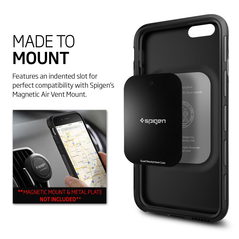 sneakers for cheap 04467 ba0a6 SPIGEN Thin Fit Hybrid Case iPhone 6s