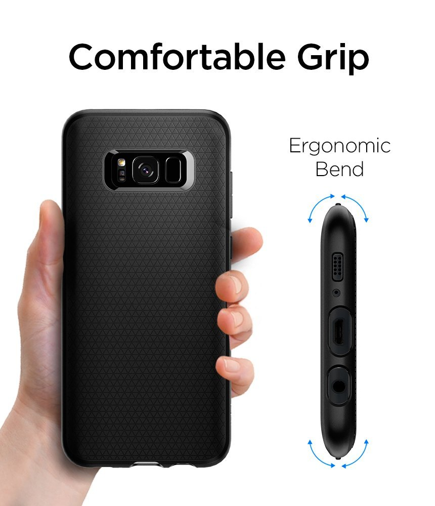new product 76295 4d12e SPIGEN Liquid Air Armor Galaxy S8 / S8 Plus Case