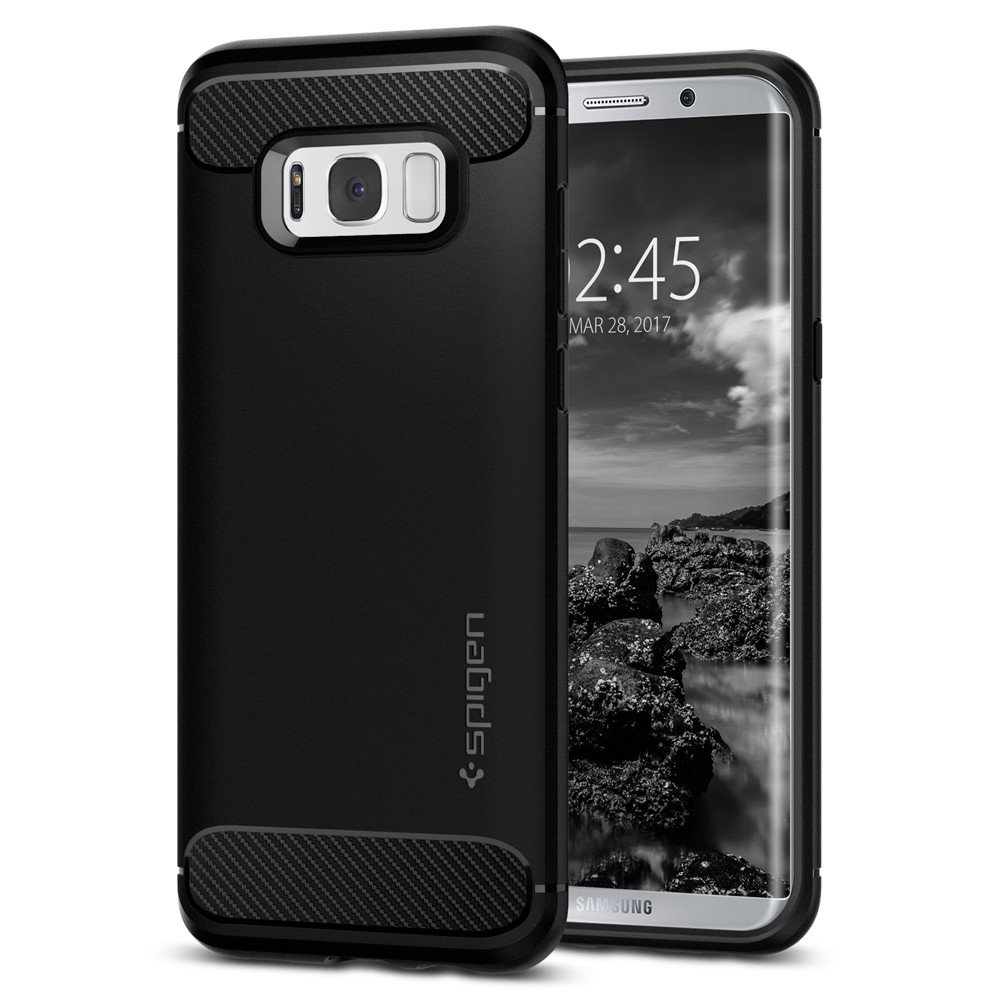 the latest 101d2 78507 SPIGEN Rugged Armor Galaxy S8 / Galaxy S8 Plus Case
