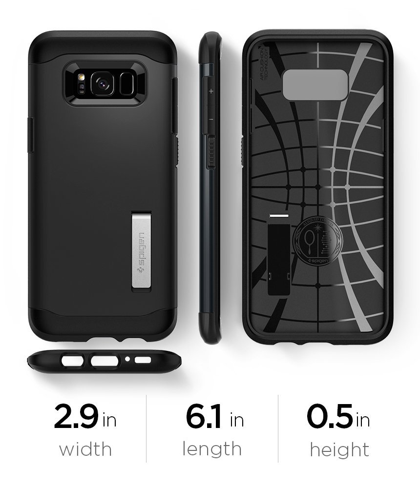 info for 10fcf c301f SPIGEN Slim Armor Galaxy S8 Case