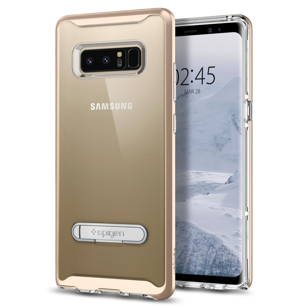 sports shoes f63a6 f94c4 SPIGEN Crystal Hybrid Series Galaxy Note 8 Case