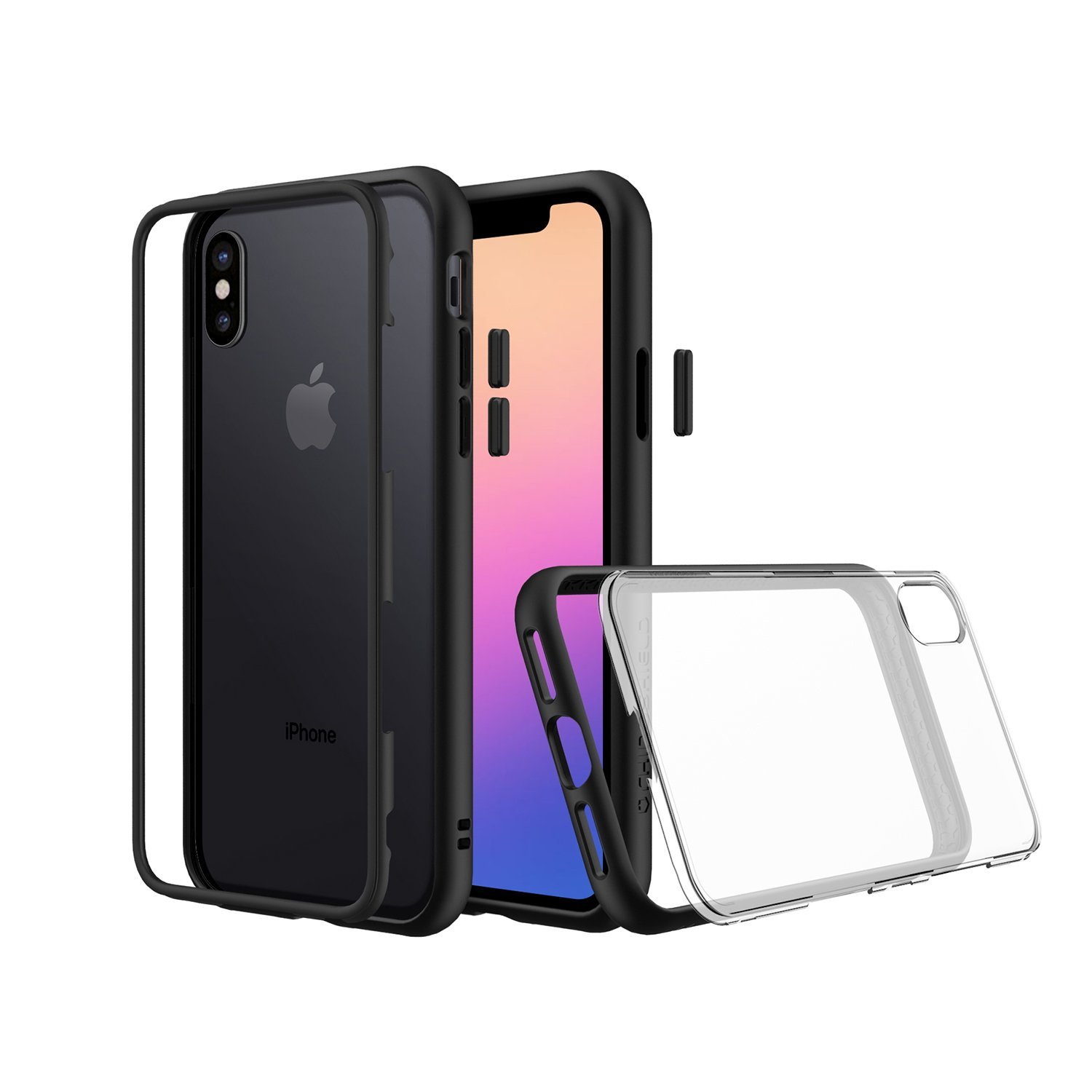 reputable site f70d2 55a7a RhinoShield Mod iPhone X Modular Case