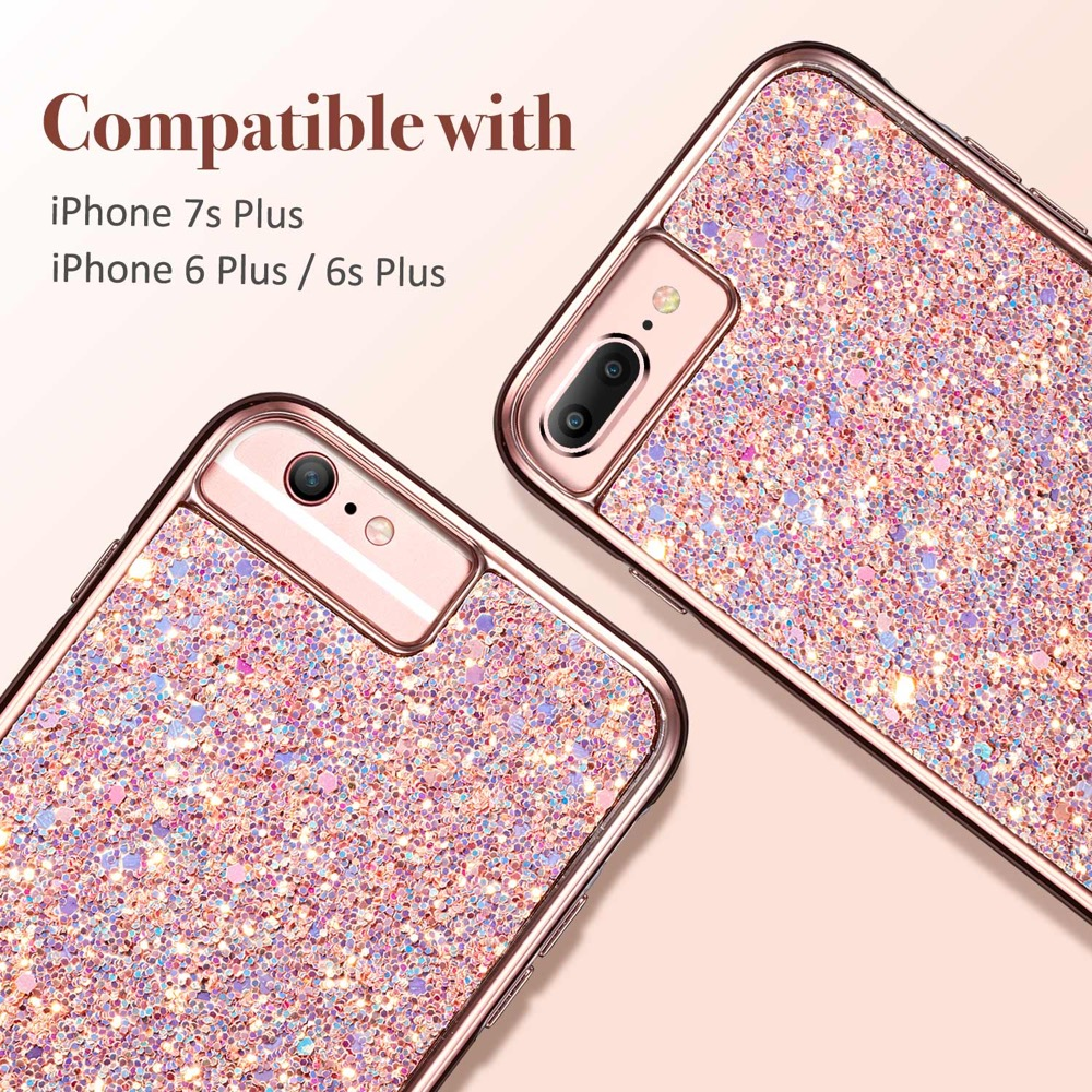 c9c7f2b1bcf Home iPhone 8 Plus ESR Case iPhone 8 Plus 7 Plus Glitter Case