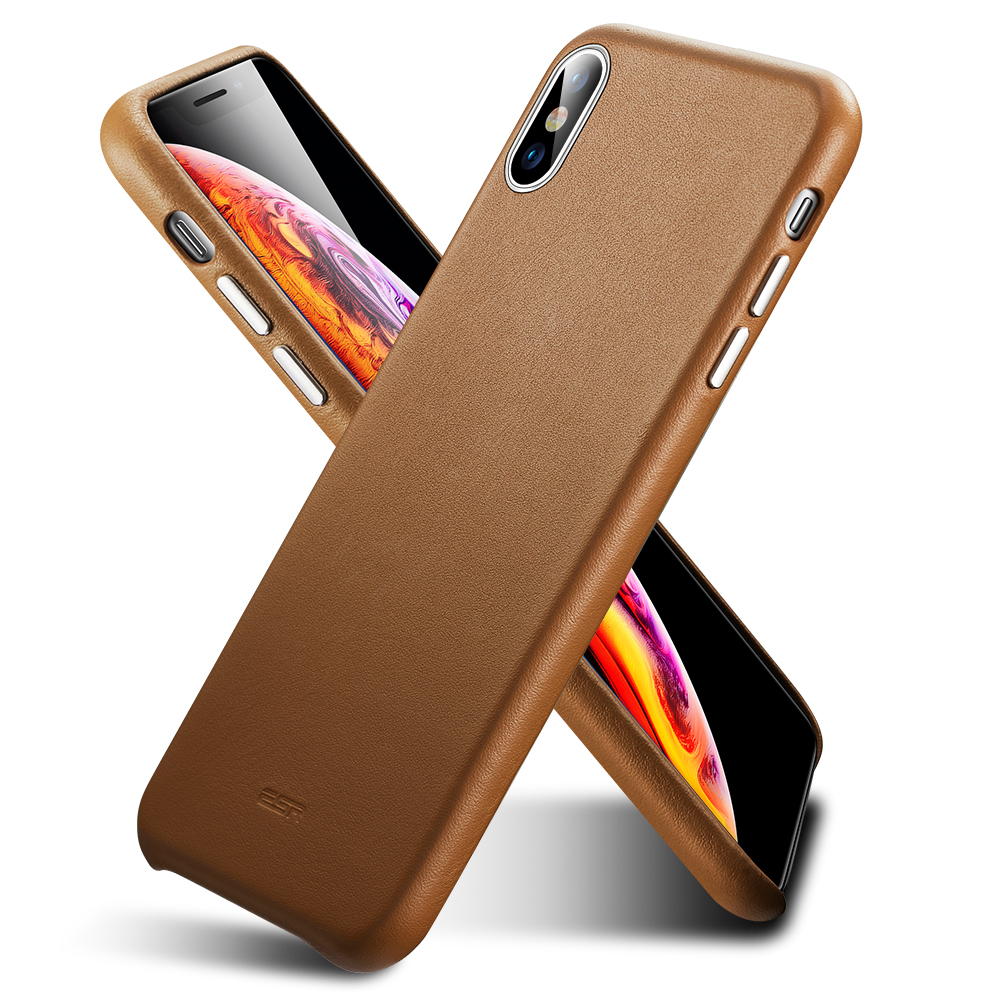 huge selection of 1ed9f 723c4 ESR Case iPhone XS Max Oxford Leather Series